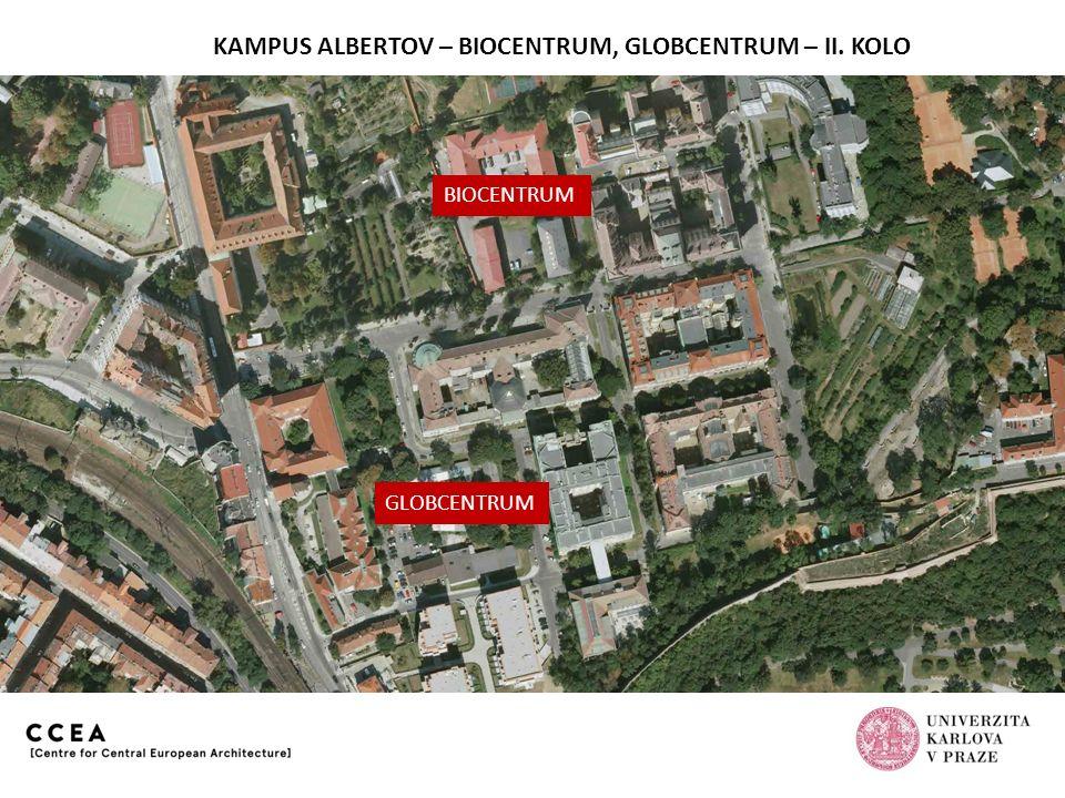 KAMPUS ALBERTOV – BIOCENTRUM, GLOBCENTRUM – II. KOLO Předložený návrh – pořadové č. 4