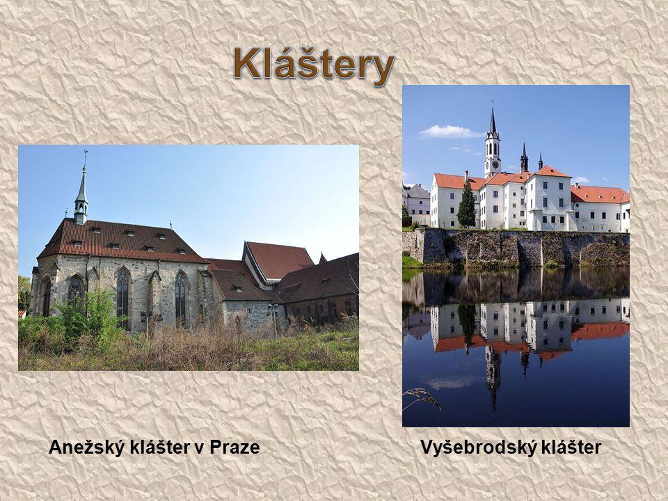 Anežský klášter v Praze Vyšebrodský klášter