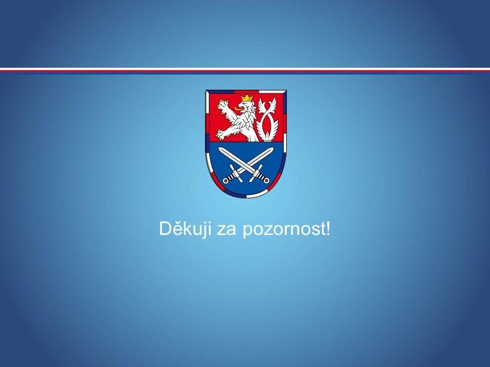 MINISTERSTVO OBRANY ČR Děkuji za pozornost!