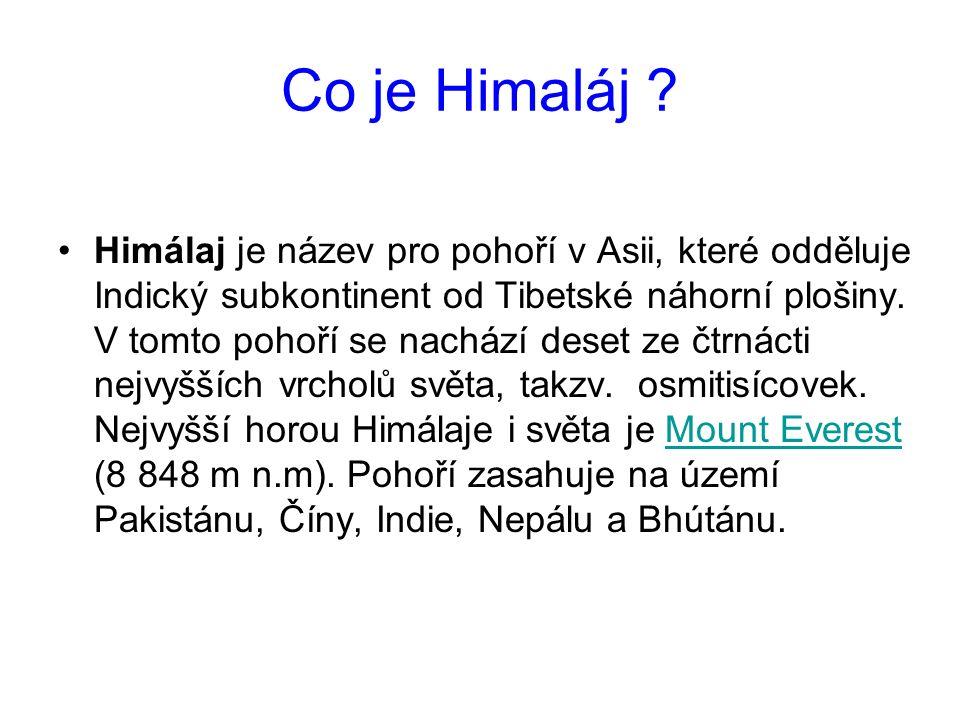 Co je Himaláj .