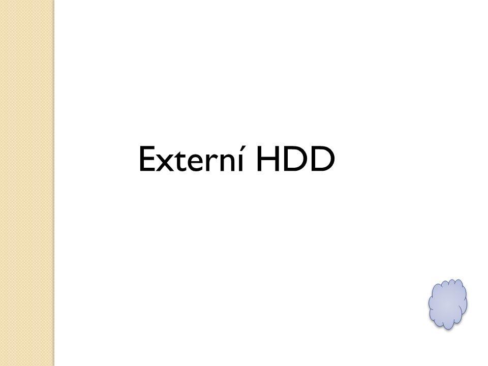 Externí HDD