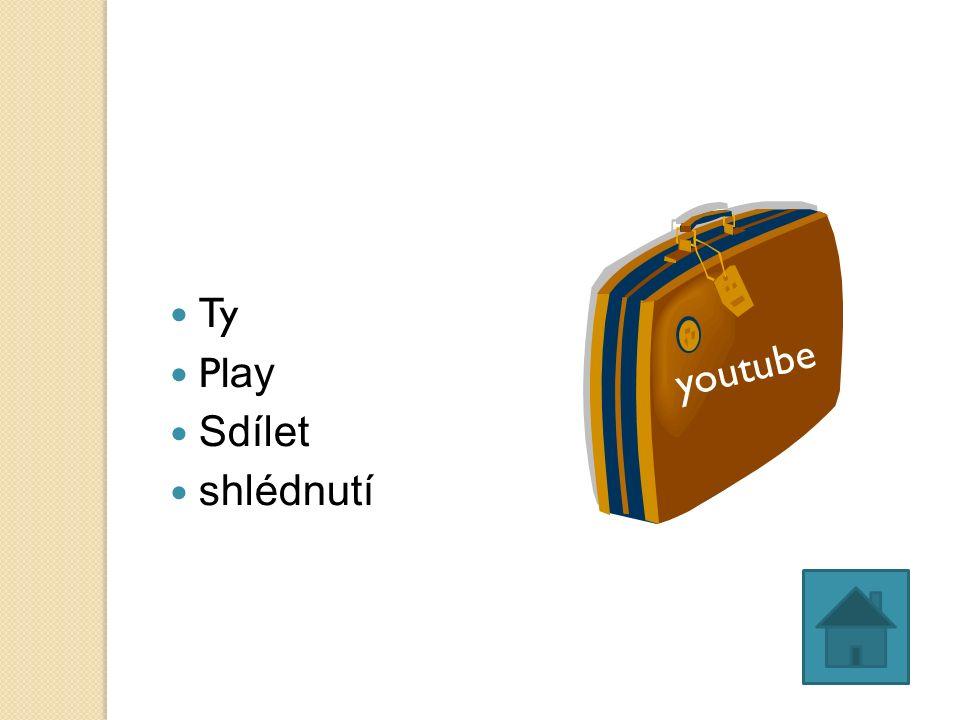Ty Pl ay Sdílet shlédnutí youtube