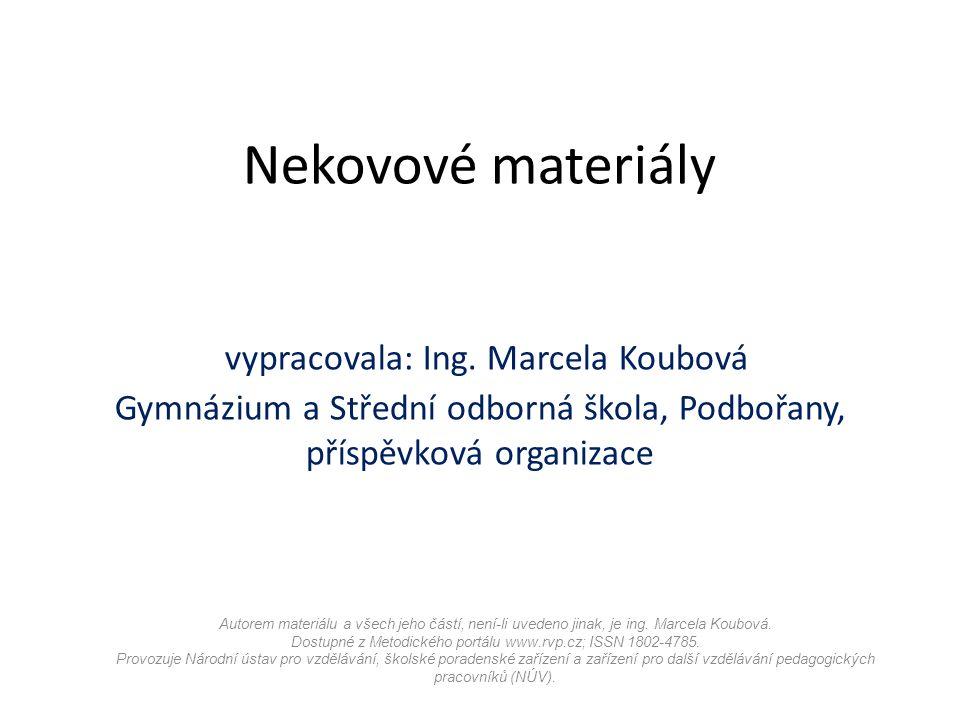 Autorem materiálu a všech jeho částí, není-li uvedeno jinak, je ing.