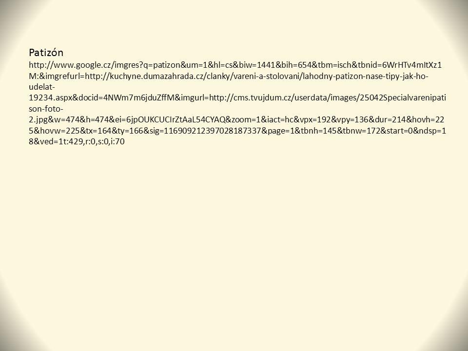 Patizón http://www.google.cz/imgres?q=patizon&um=1&hl=cs&biw=1441&bih=654&tbm=isch&tbnid=6WrHTv4mItXz1 M:&imgrefurl=http://kuchyne.dumazahrada.cz/clan