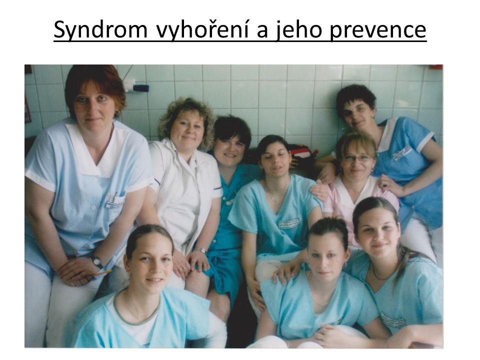 Syndrom vyhoření a jeho prevence