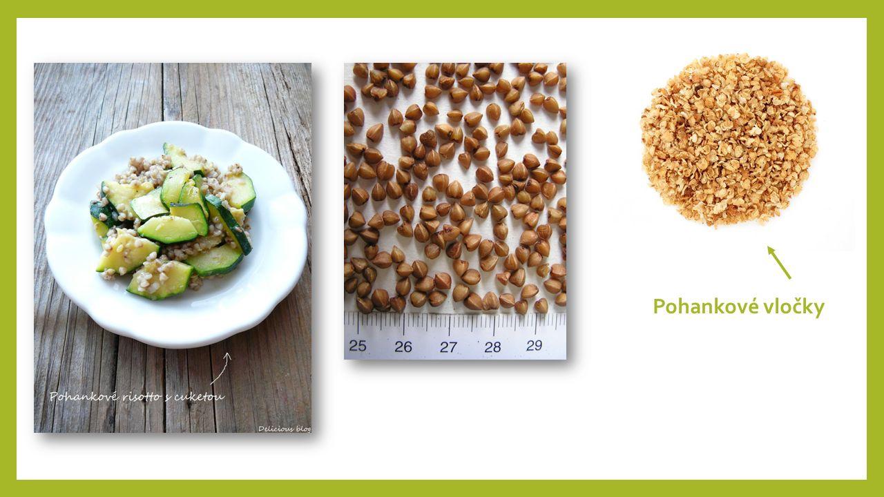 Jáhly Popis: vyráběny loupáním prosa mají vysokou výživovou hodnotu – obsahují minerální látky (draslík, hořčík, fosfor, měď, železo, zinek), vlákninu a vitamíny skupiny B Využití: potravina (používá se podobně jako rýže)