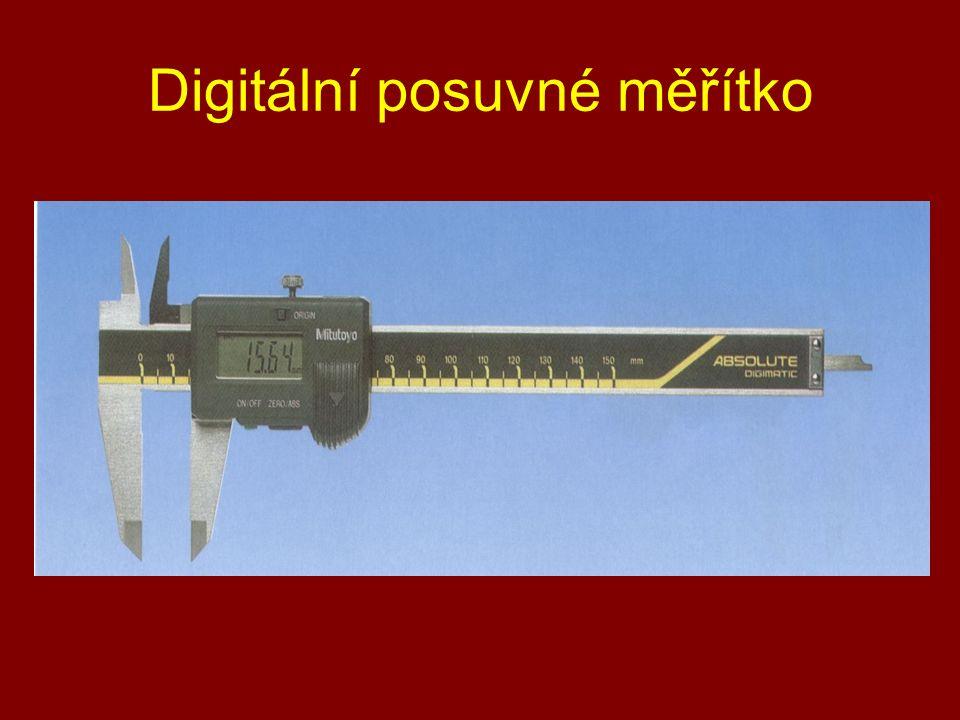 Digitální posuvné měřítko