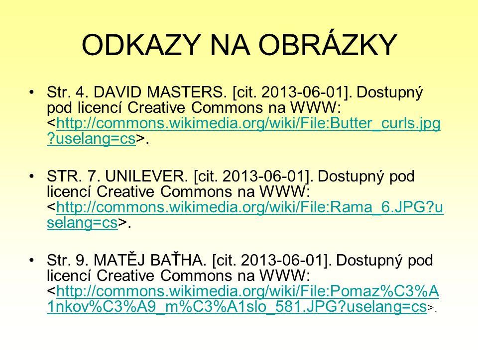 ODKAZY NA OBRÁZKY Str. 4. DAVID MASTERS. [cit. 2013-06-01].