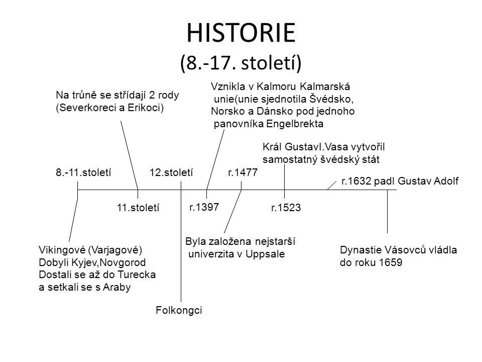 HISTORIE (8.-17.