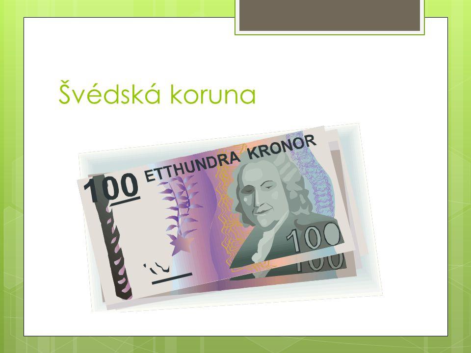 Švédská koruna