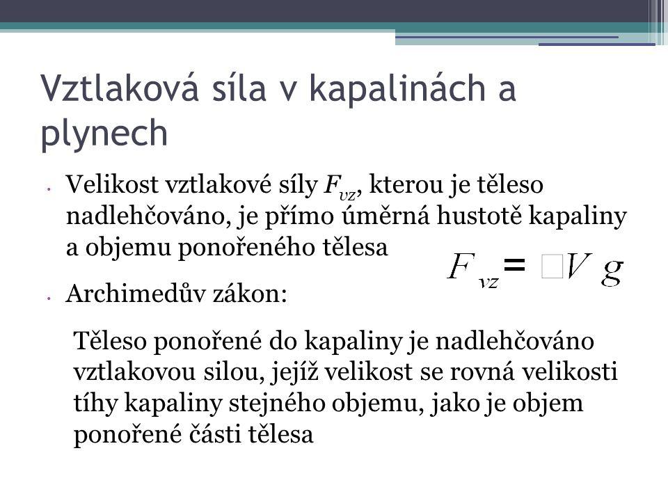6) Jak se změnil poloměr rovného vodorovného potrubí, pokud vím, že rychlost klesla na devítinu?