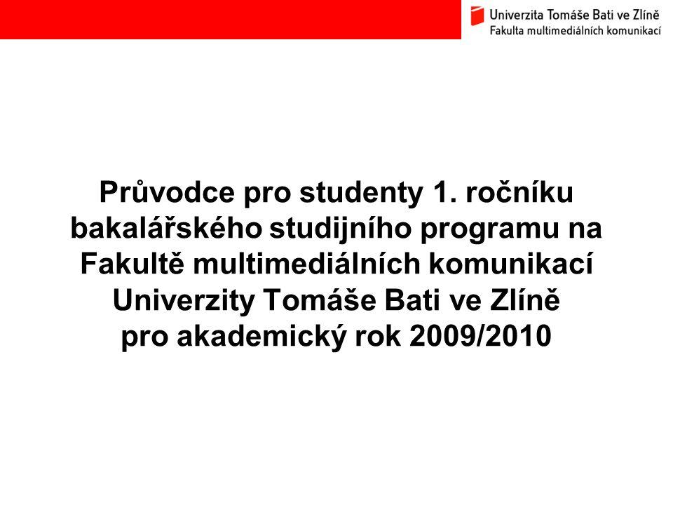 Předzápis předmětů pro akad.rok 2009/2010 Bc.