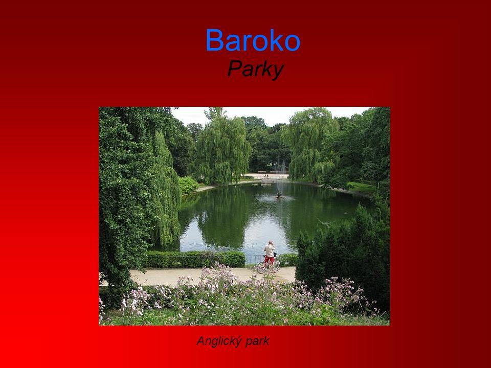 Baroko Parky Anglický park