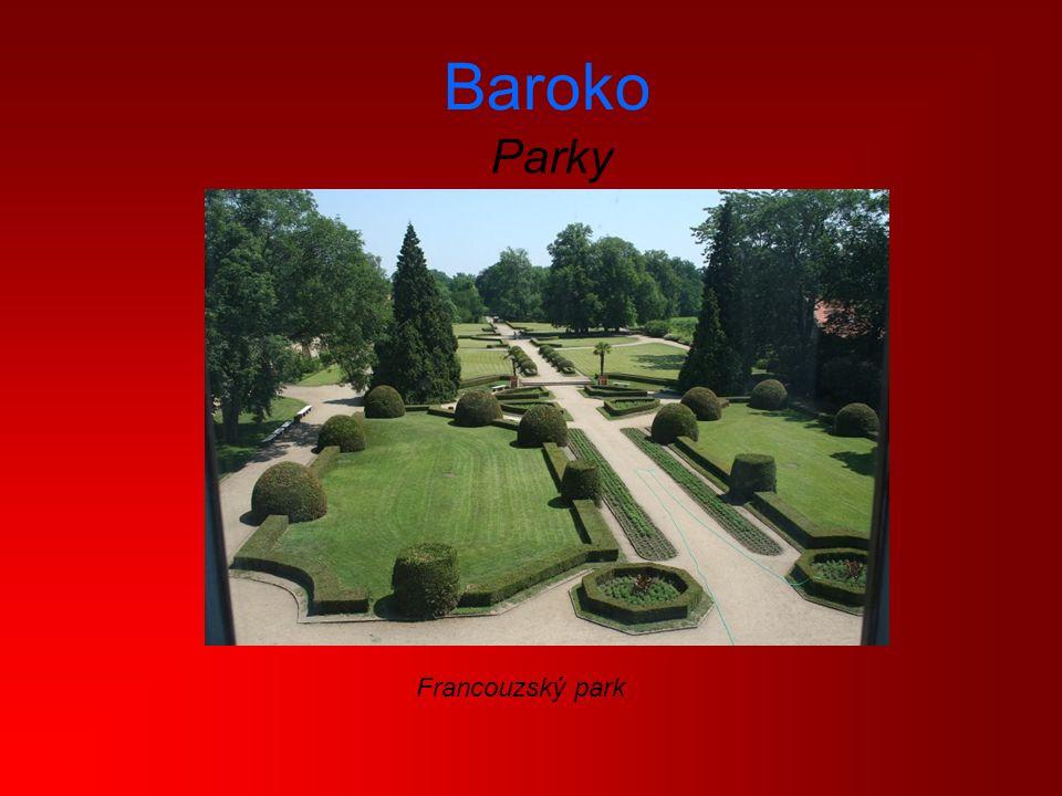 Baroko Parky Francouzský park