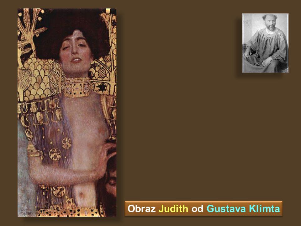 Obraz Judith od Gustava Klimta