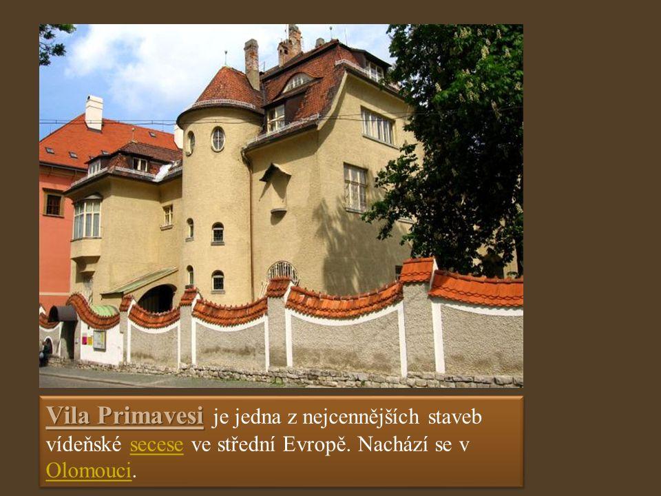 Vila Primavesi Vila Primavesi je jedna z nejcennějších staveb vídeňské secese ve střední Evropě.