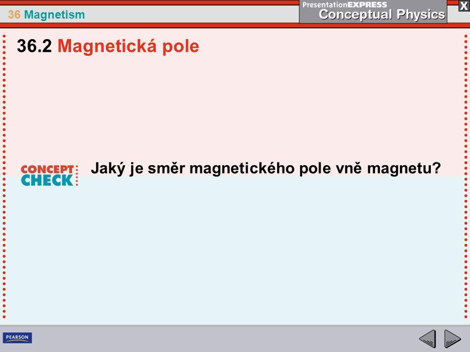 36 Magnetism Jaký je směr magnetického pole vně magnetu 36.2 Magnetická pole