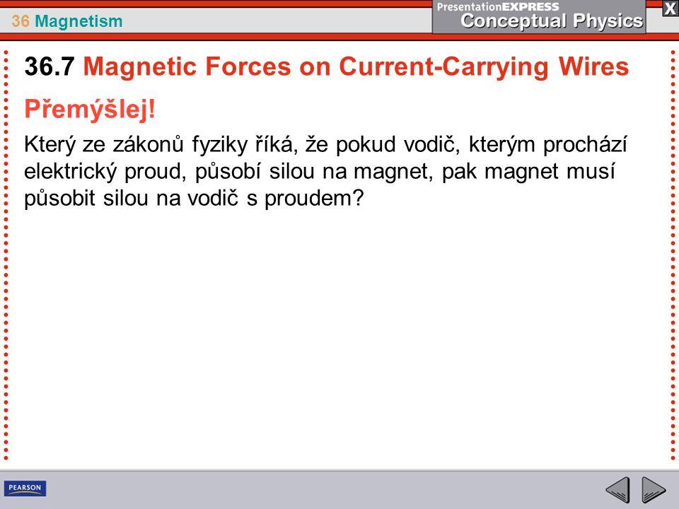 36 Magnetism Přemýšlej.