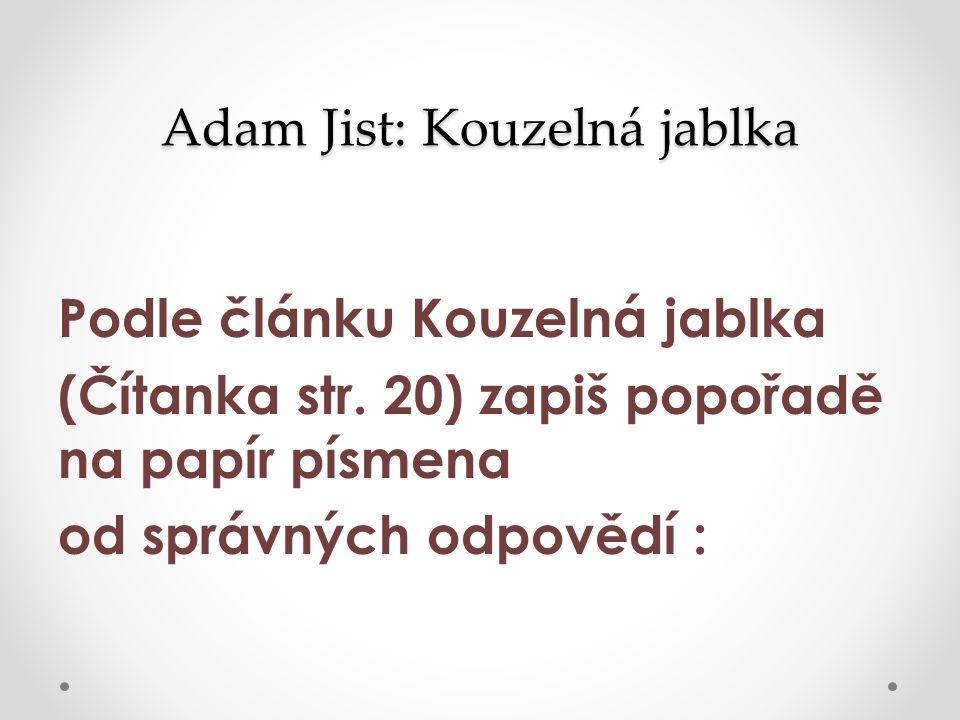 Anotace Materiál je určen do českého jazyka na rozvoj čtenářské a informační gramotnosti.