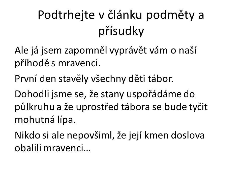 Citace Text: Vlastní zdroje a V.STYBLÍK A KOL. Český jazyk pro 6.