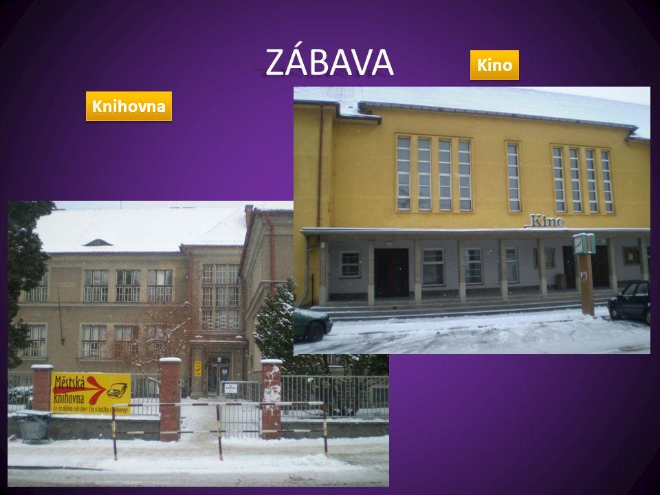 ZÁBAVA Knihovna Kino