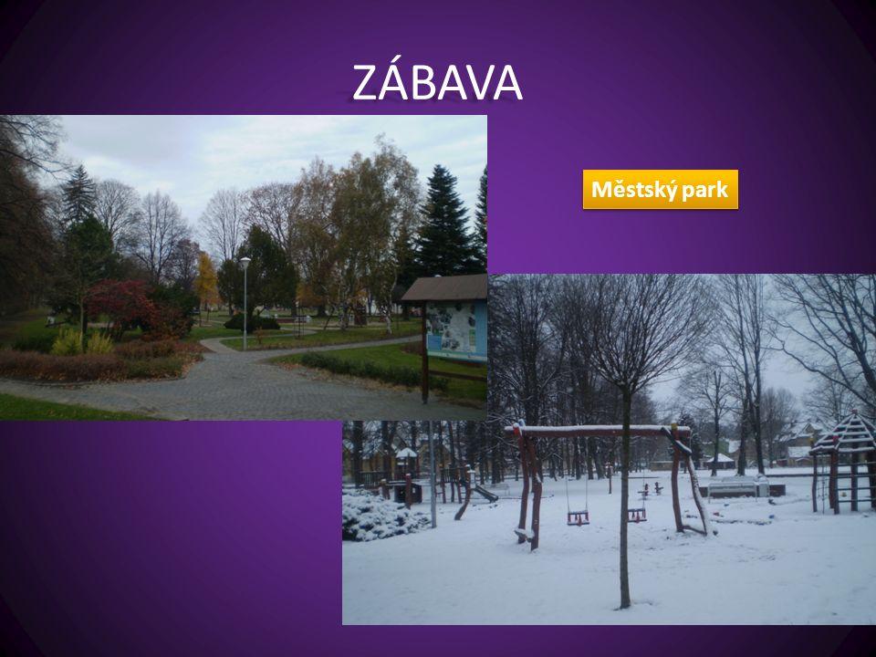 ZÁBAVA Městský park