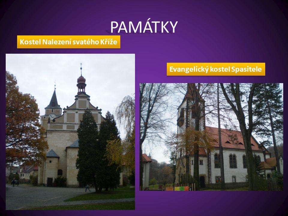 PAMÁTKY Kostel Nalezení svatého Kříže Evangelický kostel Spasitele