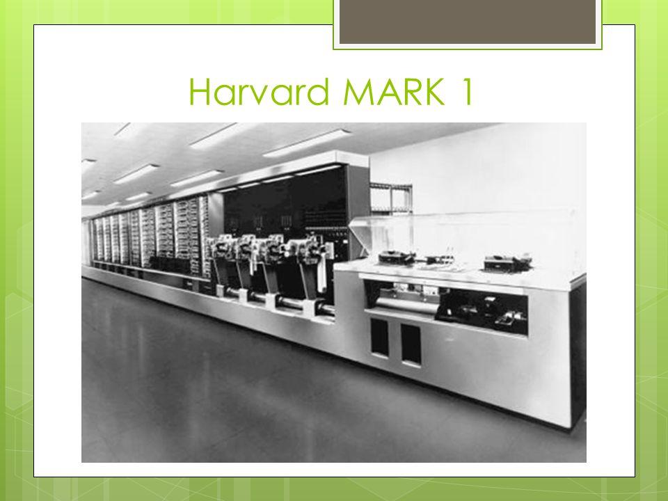 Harvard MARK 1