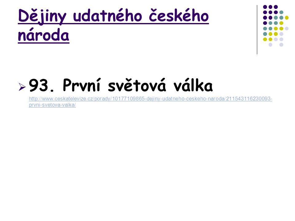 Dějiny udatného českého národa  93.
