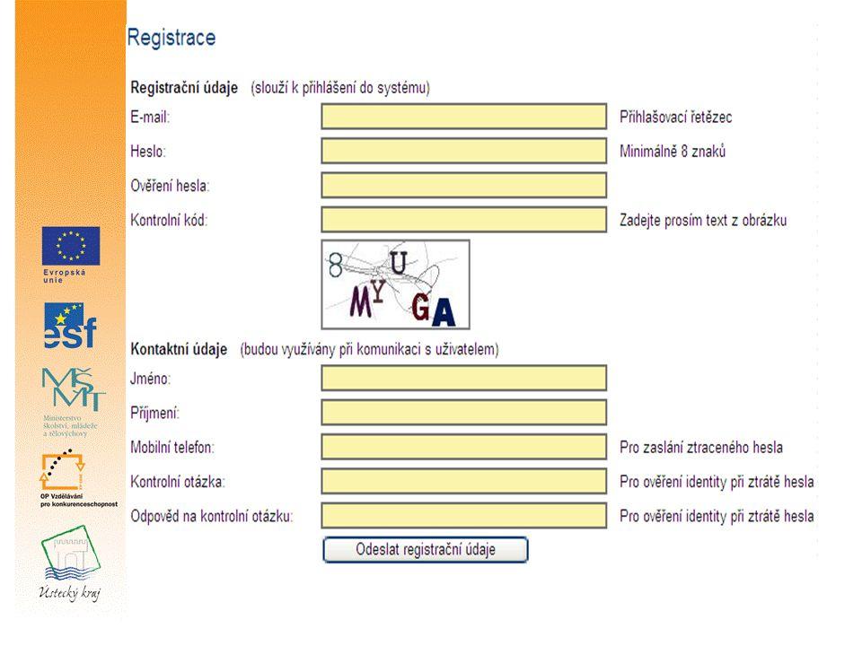 Základní zobrazení aplikace Benefit 7 Po přihlášení se objeví základní zobrazení Konto Navigační panel, jednotlivé záložky žádosti Čas odhlášení, datum a přesný čas Seznam všech žádostí