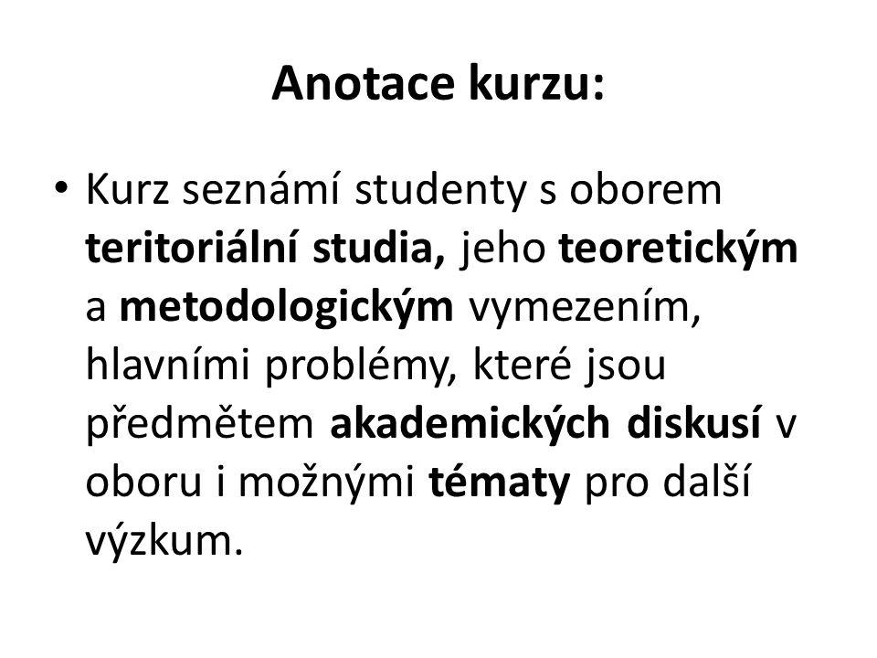 Cíle kurzu: Seznámit s klíčovými pojmy a koncepty.