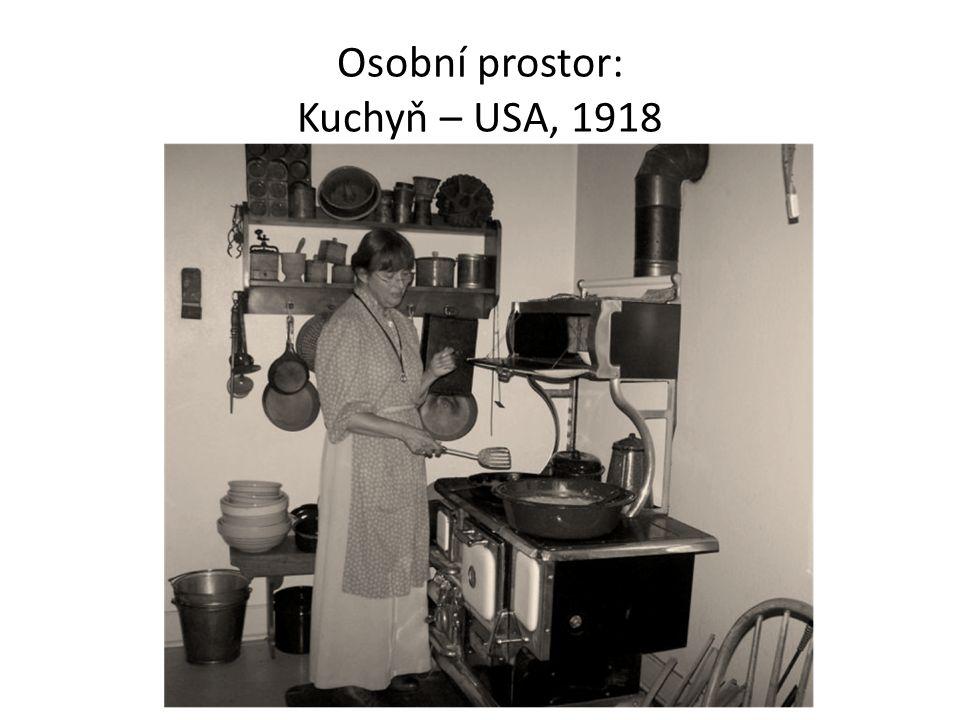 Osobní prostor: Kuchyň – USA, 1918