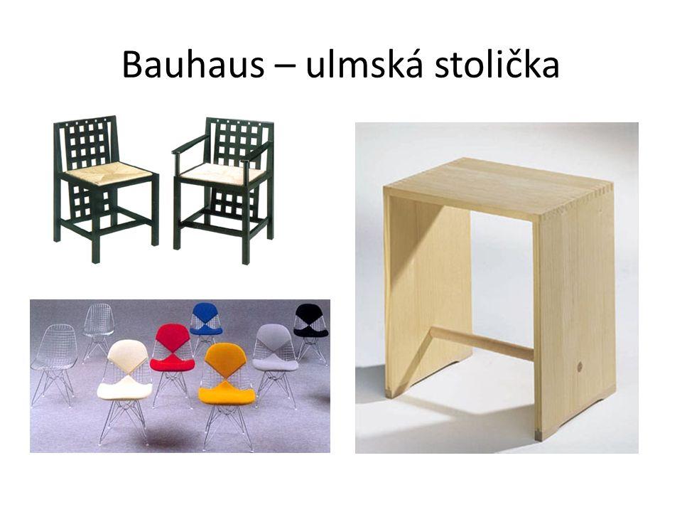Bauhaus – ulmská stolička