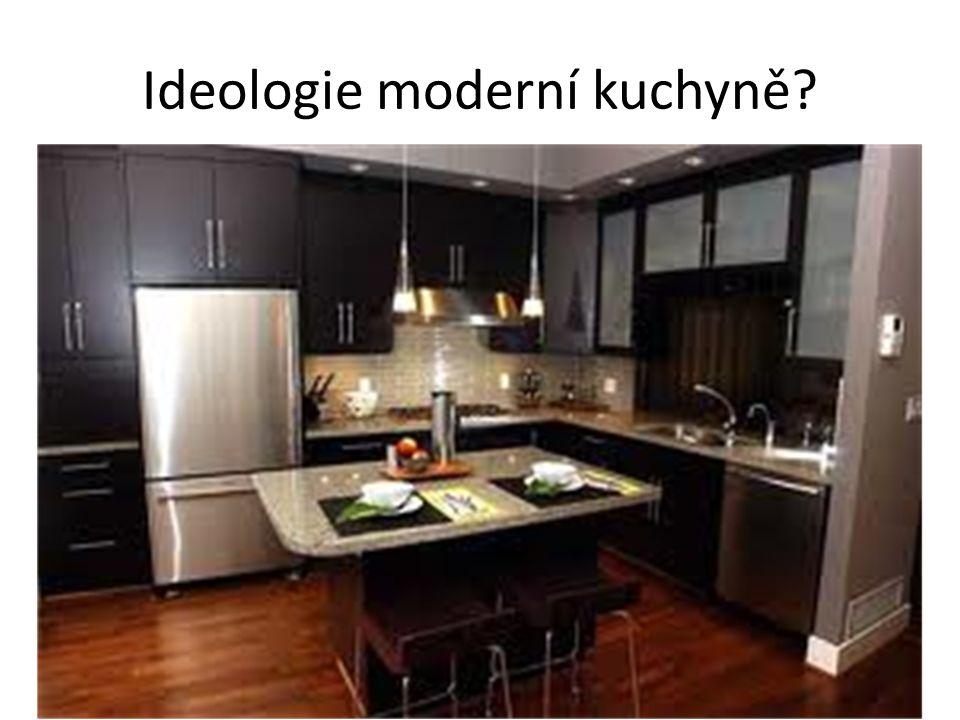 Ideologie moderní kuchyně