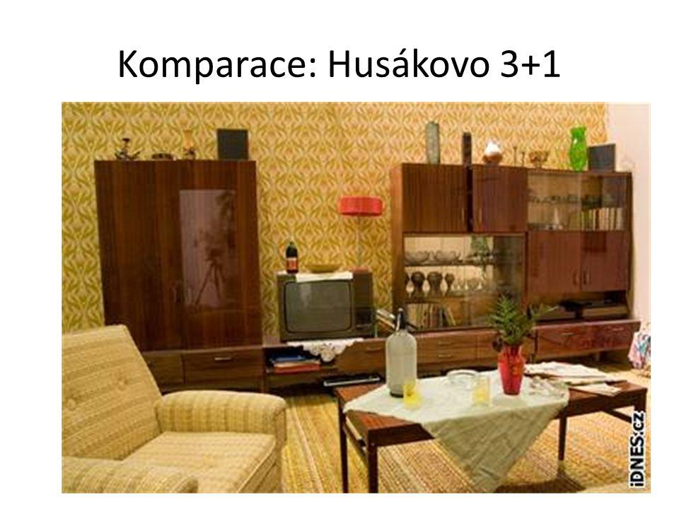 Komparace: Husákovo 3+1