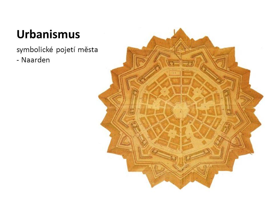Urbanismus symbolické pojetí města - Naarden