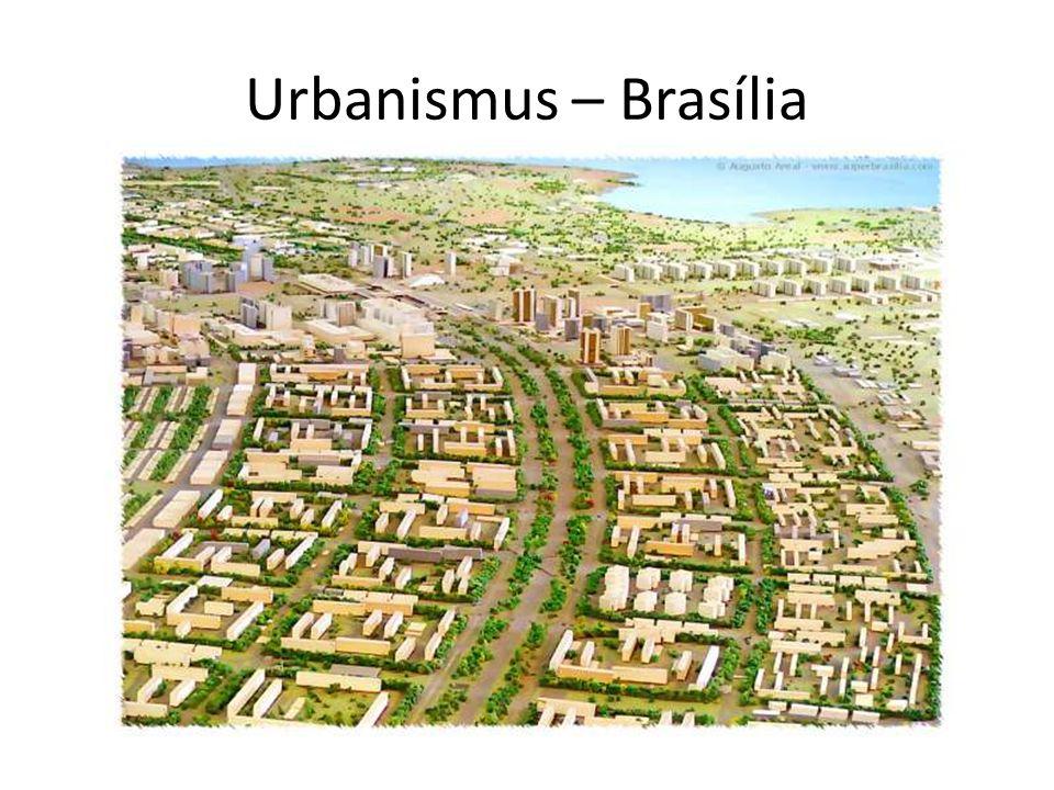 Urbanismus – Brasília