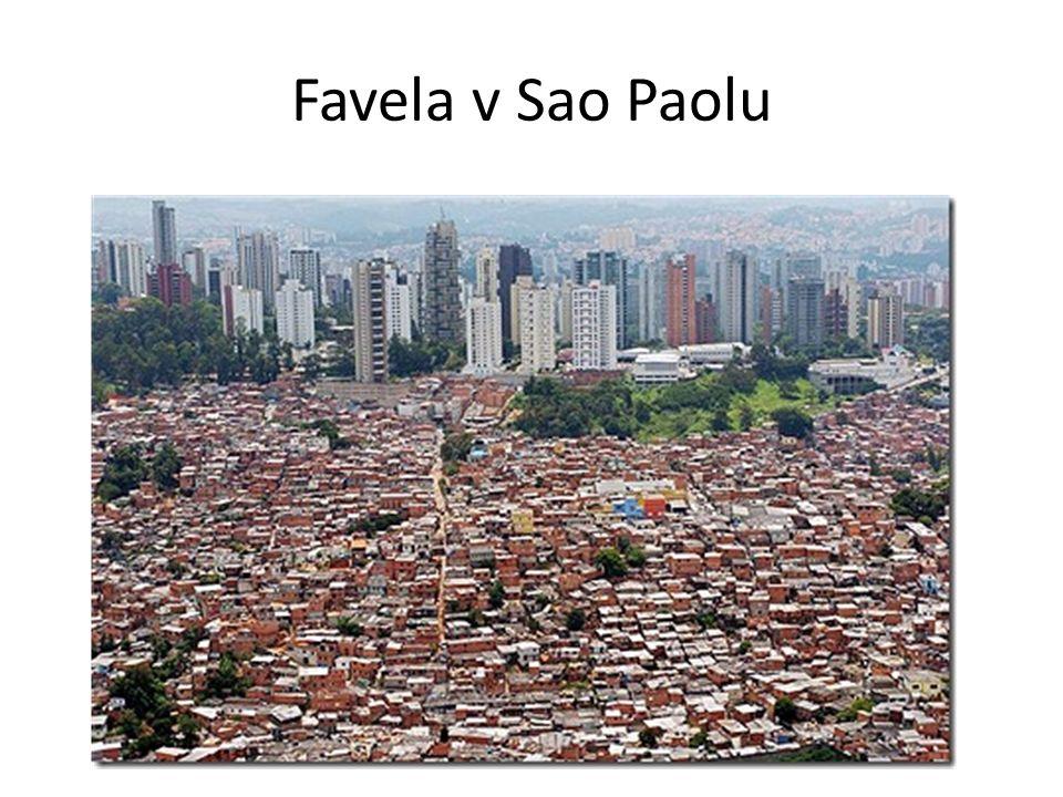 Favela v Sao Paolu