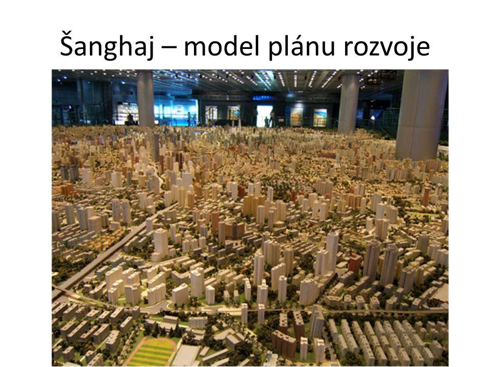 Šanghaj – model plánu rozvoje