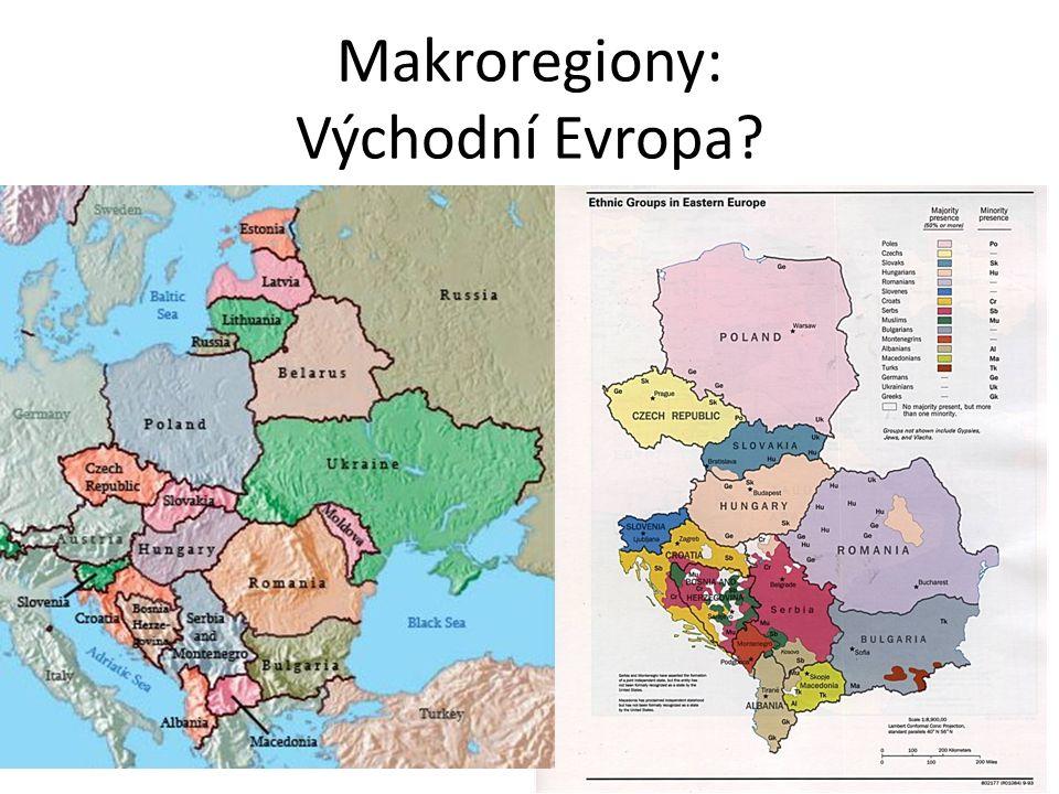 Makroregiony: Východní Evropa
