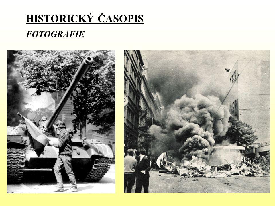 HISTORICKÝ ČASOPIS FOTOGRAFIE