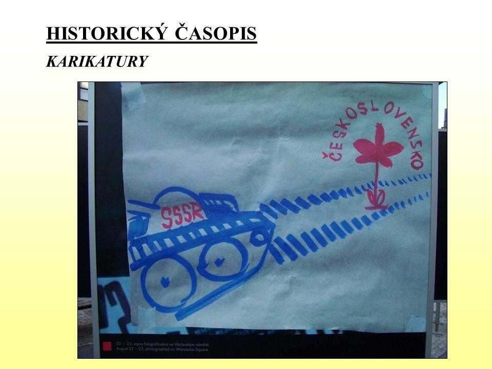 HISTORICKÝ ČASOPIS KARIKATURY