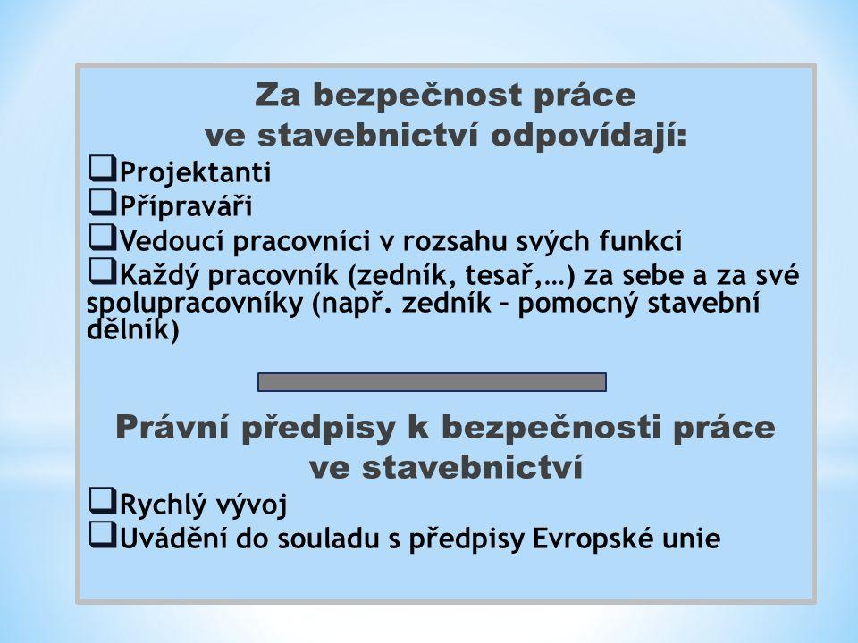 Právní předpisy  Nařízení vlády č.591/2006 Sb.