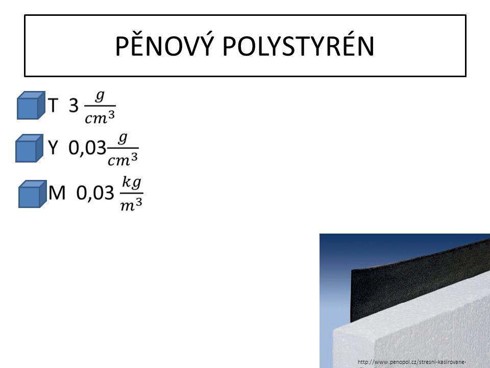 PĚNOVÝ POLYSTYRÉN http://www.penopol.cz/stresni-kasirovane- dilce.php
