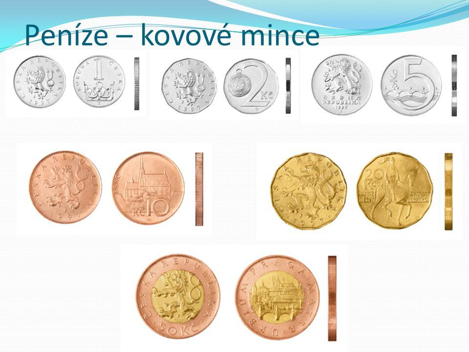 Peníze – kovové mince