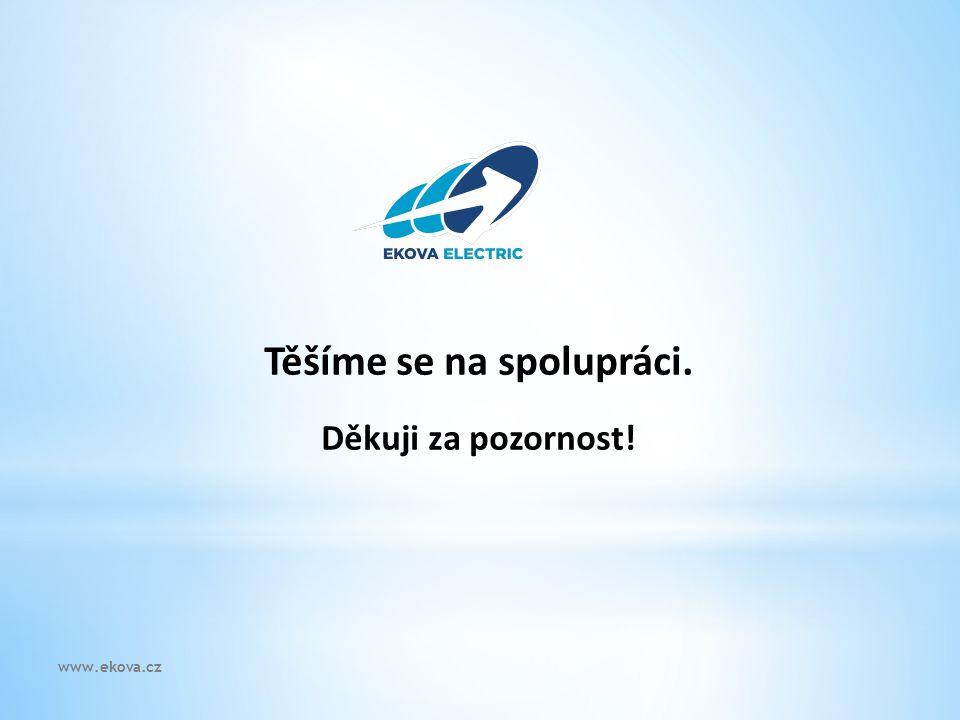 Těšíme se na spolupráci. Děkuji za pozornost! www.ekova.cz