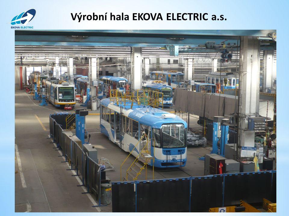 Výrobní hala EKOVA ELECTRIC a.s.