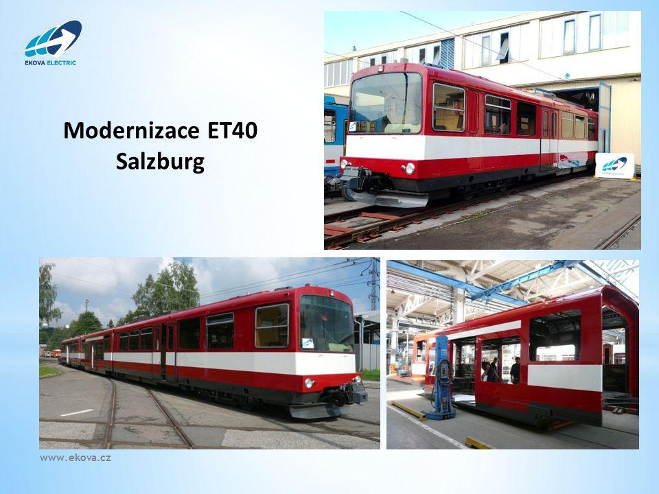 Modernizace ET40 Salzburg Astra DP Olomouc