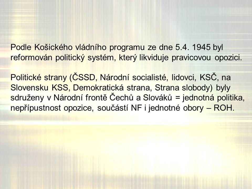 Podle Košického vládního programu ze dne 5.4.
