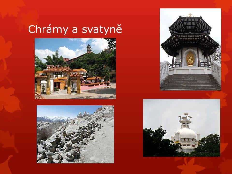 Chrámy a svatyně